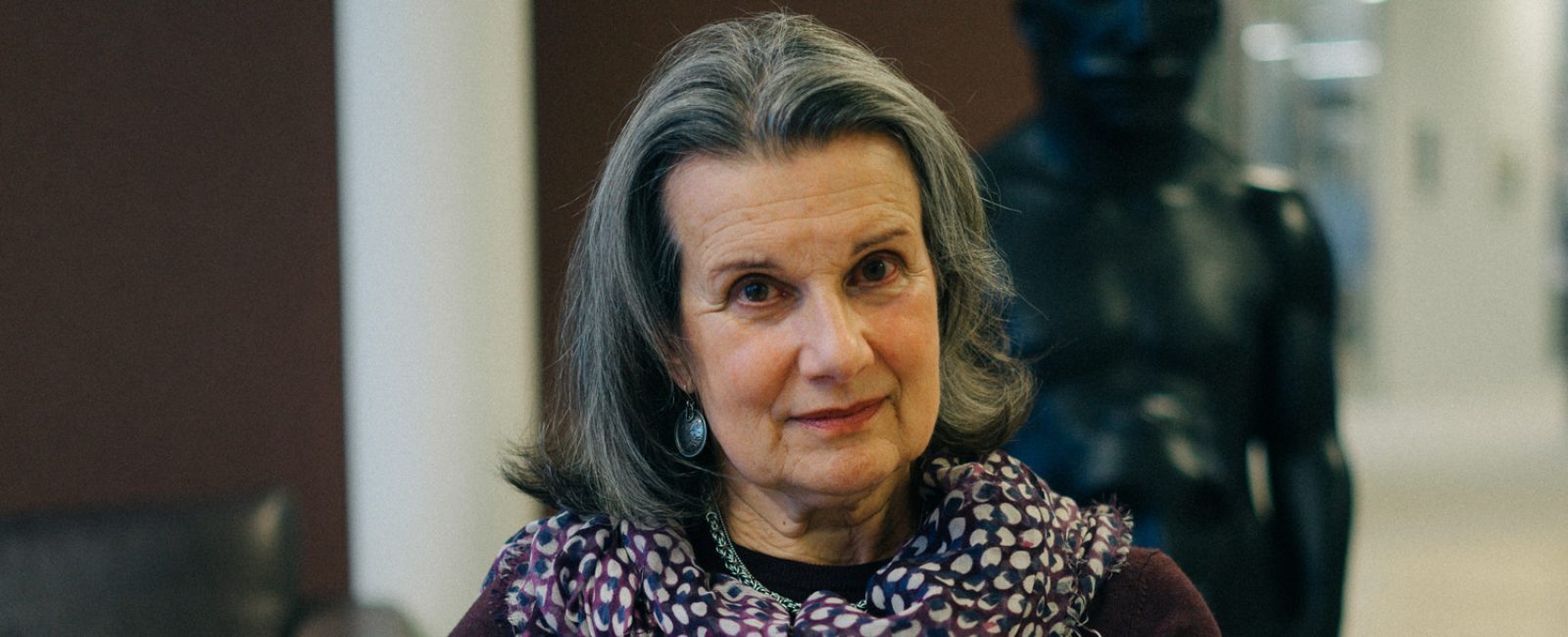 Davina Talén kreftrammet og styremedlem i Maggies Norge